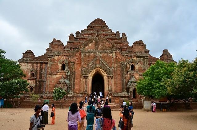 ダマヤンヂー寺院入口