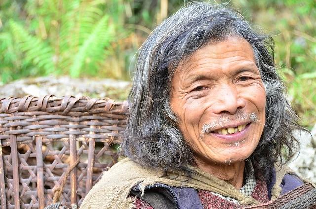 グルン族の老人