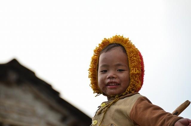 グルンの村の子供