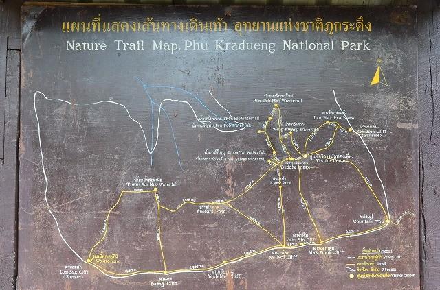 プークラドゥンの地図