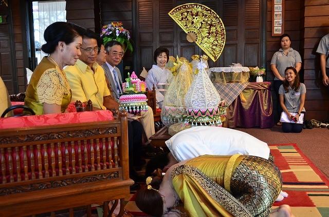 タイの伝統的結婚式
