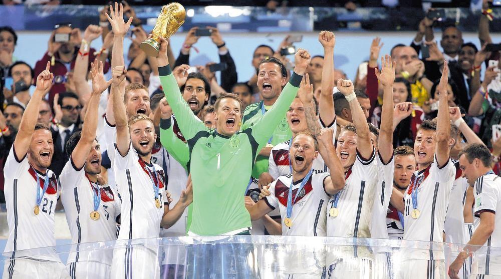ワールドカップ ドイツ優勝