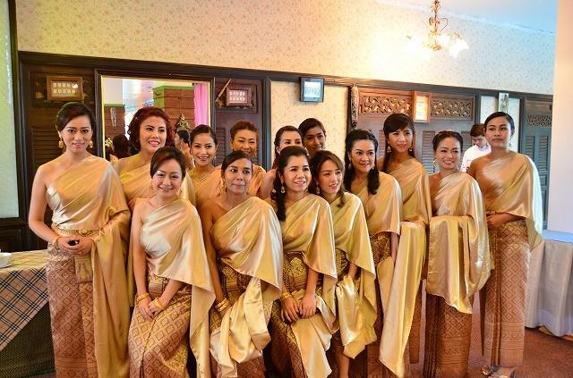 タイ式結婚式