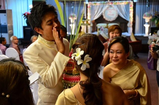 タイの伝統的な結婚式